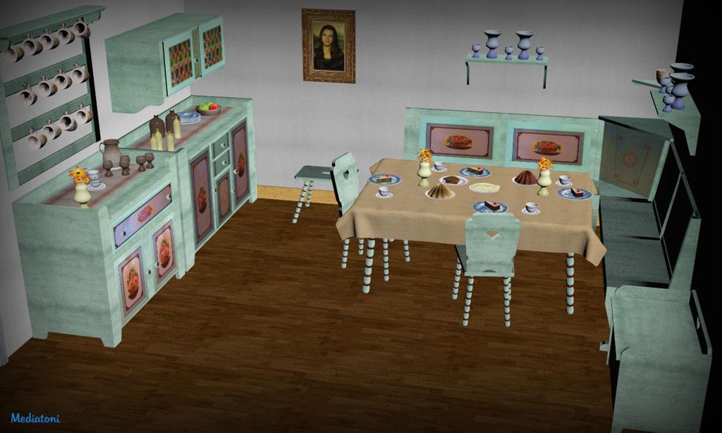 Küche virtuell
