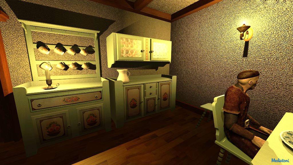 virtuelles Bauernhaus