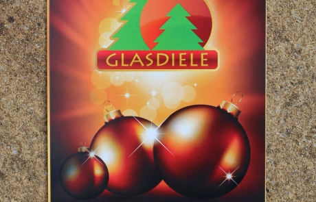 Glasdiele Flyer Front