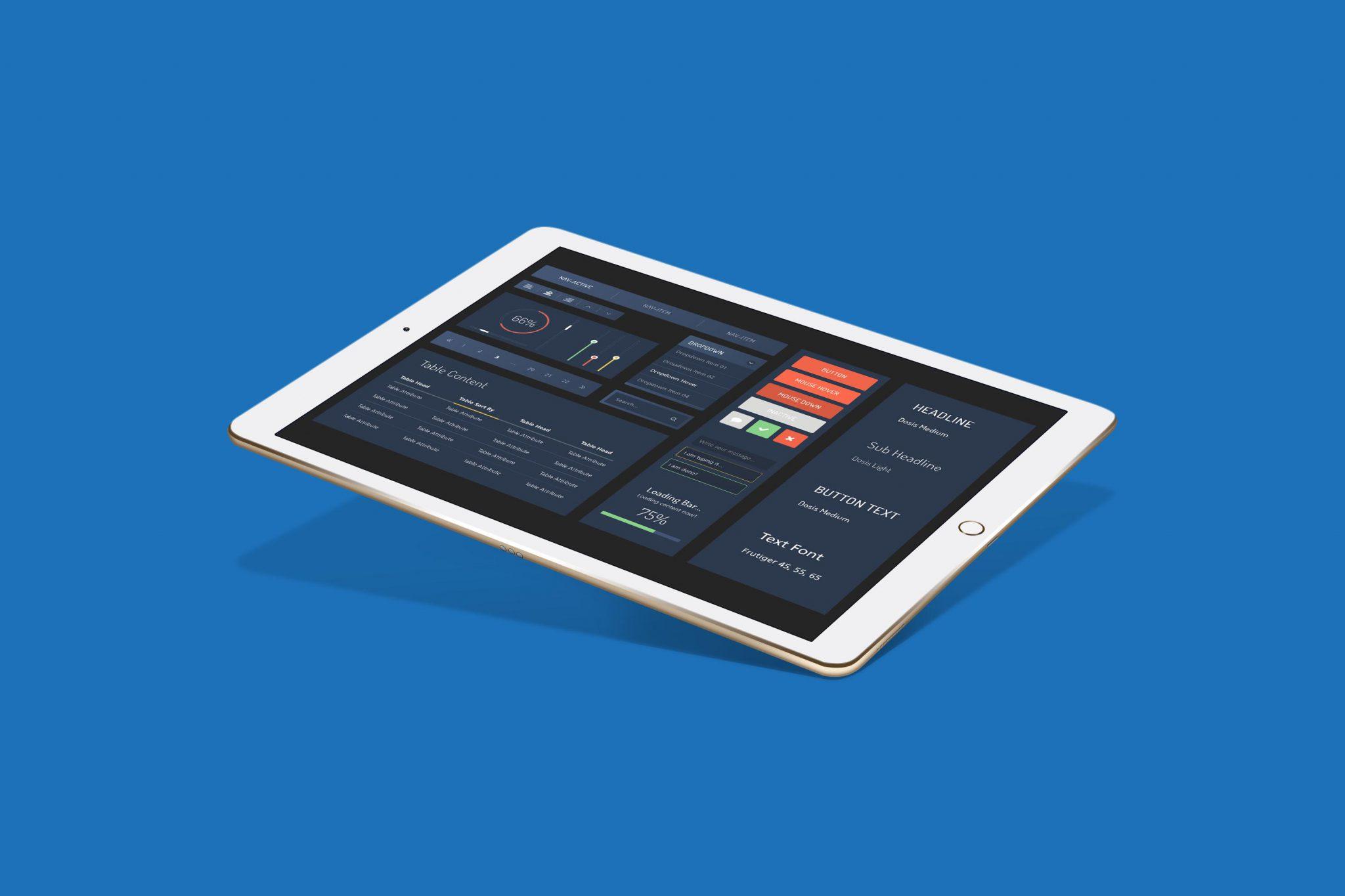 Mockup iPad